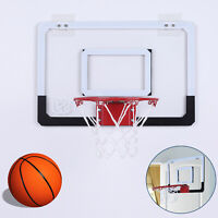 Mini Basketball Hoop System In/Outdoor Home Wall Basketball Net Goal w/Ball