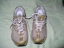 lll NEW BALANCE 8507 ZIP BROWN & GOLD ATHLETIC WOMENS 7.5 M