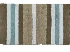 Brown Stripes Designer Cotton Bath Mat (Set of 2) 20*36 in