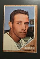1962 Topps #504 Eddie Bressoud Boston Red Sox EX High Number