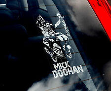 Mick Doohan - Car Window Sticker - MotoGP Honda - Moto GP Motorbike 500CC Sign