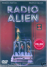Radio Alien (1992) DVD NUOVO Horror. Robert Factor. Martha Quinn. Ted Nicolaou