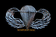 MINI PARATROOPER JUMP WING PIN PARACHUTE US NAVY MARINES RECON ARMY AIR FORCE