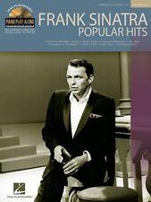 Frank Sinatra Popular Hits Sheet Music Piano Play-Along Book and CD NE 000311277