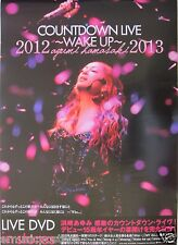 "AYUMI HAMASAKI ""WAKE UP 2012 / 2013"" ASIAN PROMO POSTER - J-Pop Music"