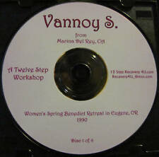 Vannoy Shaw Al-Anon 12 Step Workshop 4 CDs alanon speaker recovery talk AFG