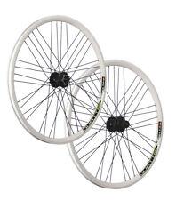 VUELTA 26 Zoll Fahrrad Laufradsatz Quattro Shimano Deore HB / FH-M525 Disc weiß