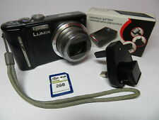 Cámara Digital Panasonic Lumix DMC-TZ8 Leica Lente 12.1MP Zoom 12 Exc & 2GB Sd