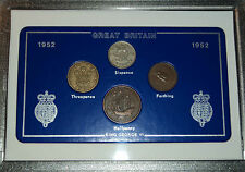 More details for 1952 vintage coin set 69th birthday birth year present wedding anniversary gift