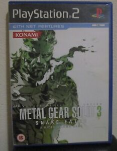 METAL GEAR SOLID 3-SNAKE EATER (PS2)