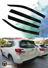 For Subaru Forester 2019-2020 Deflector Window Visors Guard Vent Weather Shield