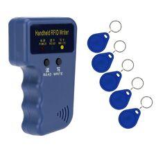 ID Card 125KHz Single Frequency Machine Handheld RFID Duplicator Copier Writer
