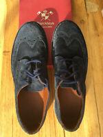 scarpa Derby allacciata BARCKLEYS blu calzatura uomo 43 (9 UK) shoes men