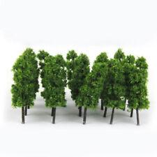 20Pcs Model Trees Train Railroad Diorama Wargame Park Scenery Hot scale 6cm Mini