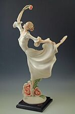 """1999 Armani Florence Dance Of The Roses, #1444C, Ballerina With Rose, Signed 15"""""""