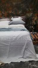 100% Pure Linen French Bed Linen Quilt Cover Linen Duvet linen Set-White King