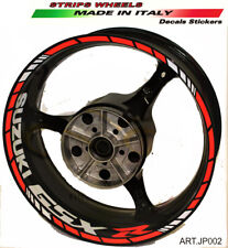 Adesivi per ruote Suzuki GSX R rossi