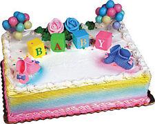 BABY BLOCKS #2 Cake Kit Shower Topper Decoration Decorating Set Bakery Supplies