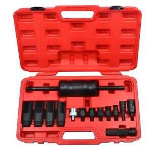 Diesel Injector Puller Extractor Kit Common Rail Diesel For Bosch Delphi 14Pcs