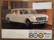 MORRIS 1800 Mk.II orig 1970 UK Mkt Sales Brochure - BL 2513/F