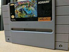 Teenage Mutant Ninja Turtles IV: Turtles in Time SNES Super Nintendo Authentic