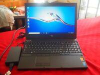 """Dell Precision M4800 FHD 15.6"""" i7-4810MQ, 16GB, 256 SSD + 500 HDD, K2100m, +More"""
