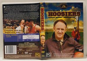 Hoosiers | Region 4 DVD | Gene Hackman, Barbara Hershey & Dennis Hopper