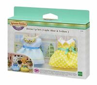 SYLVANIAN FAMILIES - TOWN DRESS UP SET LIGHT BLUE & YELLOW TOY