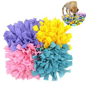 Dog Snuffle Mat Sniffing Treat Foraging Dispenser Mats Puzzle Slow Feeder Toy