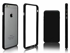 Funda bumper NEGRO para APPLE IPHONE 6 6S - 4,7 pulgadas - carcasa