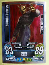 Force Attax Clone Wars Serie 4 (2013), Savage Opress (212), Star-Karten