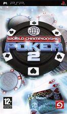 World Championship Poker 2 - JEU PSP - NEUF