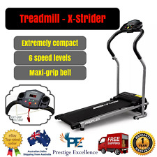 PROFLEX X-Strider Compact Treadmill Multiple Speed Level Office Home Gym Fitness