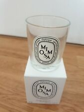 Diptyque Mimosa 70g empty candle jar and box