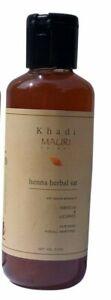 Khadi Mauri Herbal Heena Shampoo Oily Hair Treatment, 210ml Free Ship
