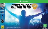 XBOX ONE Spiel Guitar Hero Live (Spiel + Gitarre)