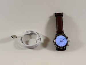 Fossil Gen 3 Q Explorist 44mm Blue Stainless Steel Case smartwatch