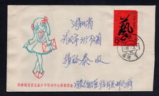 1987.12.31 mail to Wuhan, Hubei, Inner Mongolia, China, Art Festival stamps