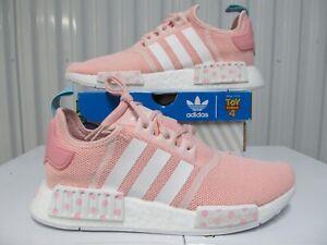W Adidas NMD R1 TOY STORY BO PEEP DISNEY Pink Polka 8 EG7316 Girls 7Y ultraboost