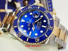 Brand new ROLEX Submariner Steel and Yellow Gold 40mm Blue Dial 116613LB