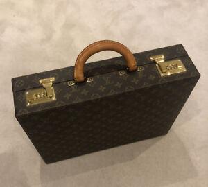 Louis Vuitton Briefcase Vintage Classeur Monogram 1990s