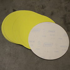 "20 NORTON 250MM / 10"" SELF ADHESIVE STICKY BACKED SANDING DISCS 100G"