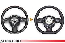 CAMBIO S-LINE adintelado Volante MULTIF Interruptor de Giro cuero AUDI A6 23