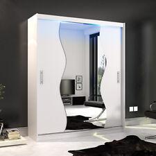 Schlafzimmerschrank schiebetür spiegel  Kleiderschränke mit 151cm-200cm Höhe Schiebetür-Breite | eBay