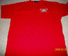 Aerosmith Sz Xl Rare Red Crewt-Shirt Plus More Free Live
