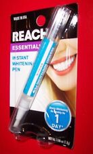 Reach Instant Tooth whitening Pen .06 oz Whiter Teeth Now Easy to Use 1