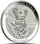 2015 1 Oz Silver $1 Australian KOALA BU Coin.