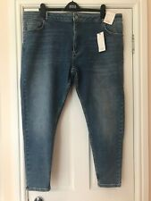 Marks and Spencer Skinny Jeans Size 24 Blue High Rise