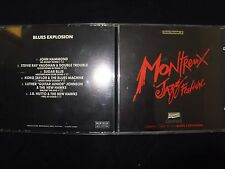 CD MONTREUX JAZZ FESTIVAL / BLUES EXPLOSION / RARE /