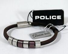 Police Armband Leder PJ.22653BLC/02-19 ehem.UVP. 69.-€ Nr.29